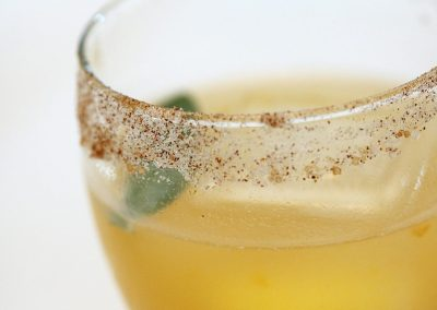 Ginger Apricot Cocktail