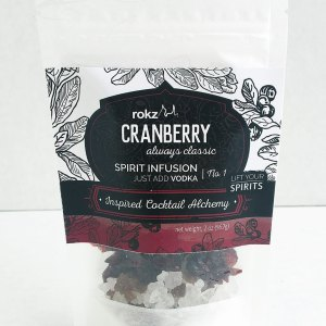 rokz cranberry infusion flavor pack