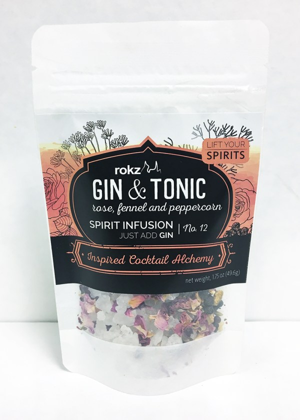 rokz gin and tonic infusion flavor pack