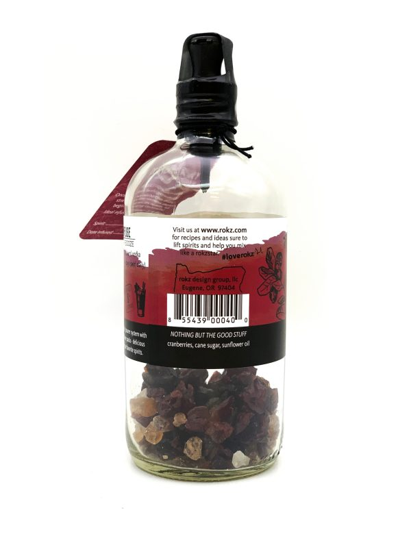 rokz Cranberry Infusion Bottle