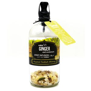 rokz Ginger Cardamom Spirit Infusion Bottle