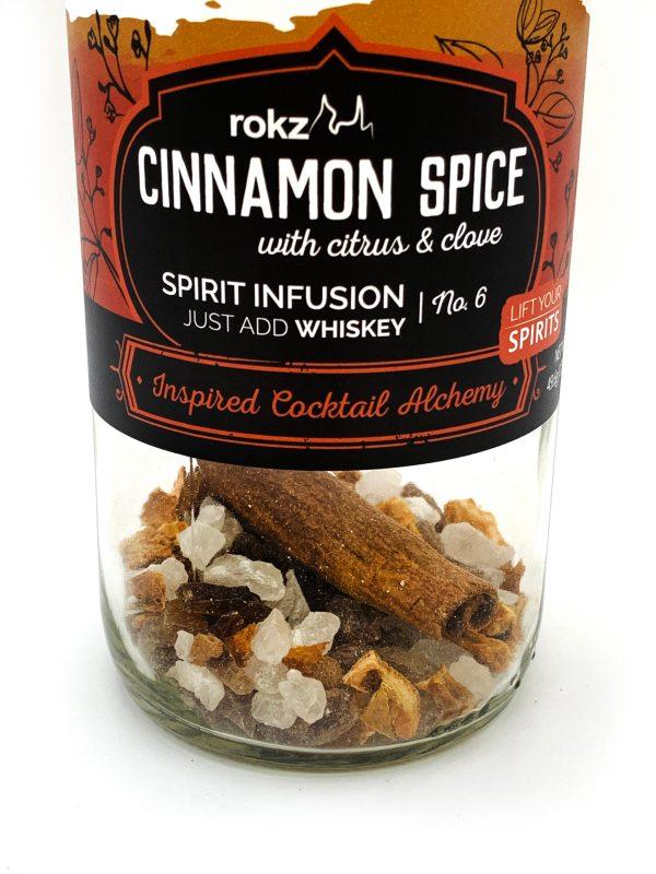 rokz Cinnamon Spice Spirit Infusion Bottle
