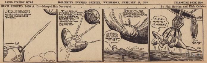 Buck Roger comic strips