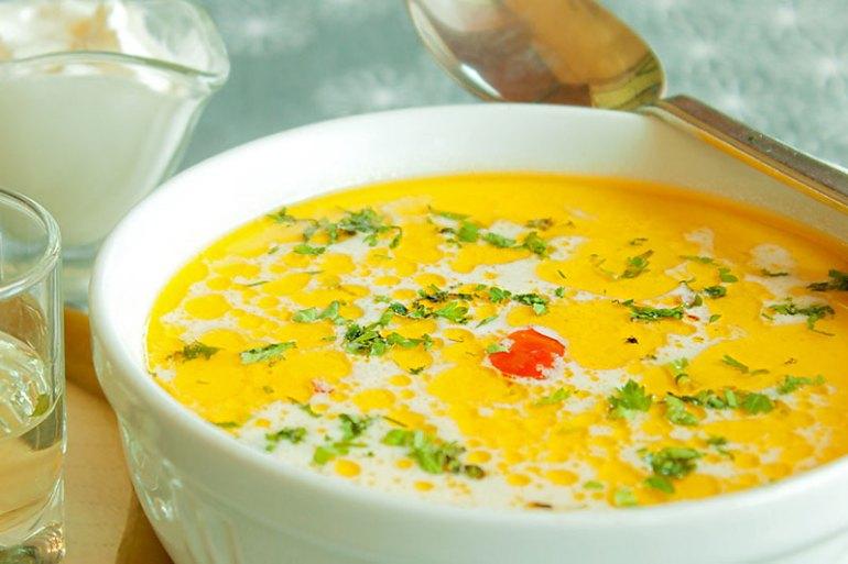 Ciorba de burta (tripe soup)