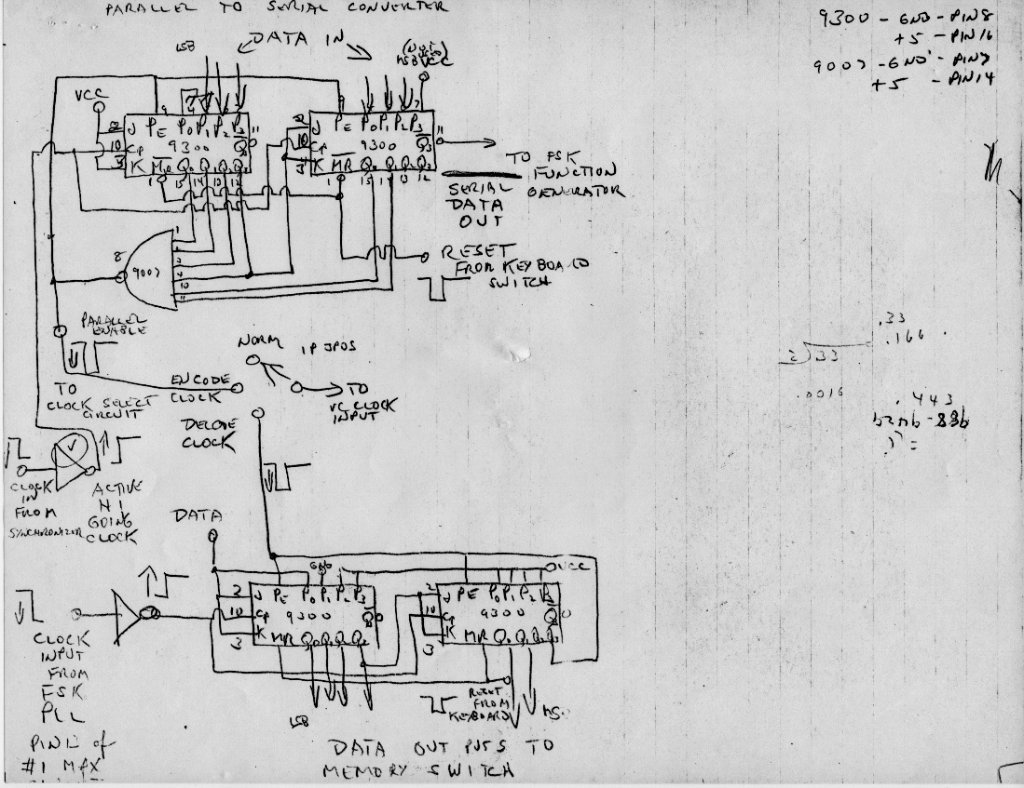 Original Sequencer Shematics Ttl Logic 14 Roland Mc
