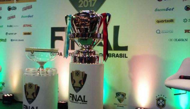 Final da Copa do Brasil: Primeiro jogo será no Rio e o segundo no Mineirão