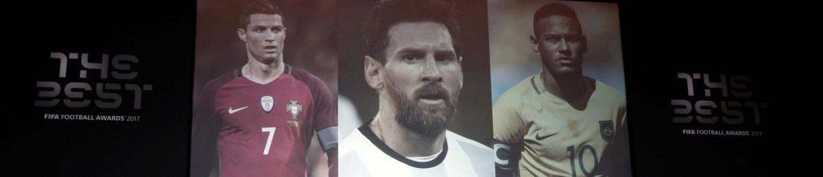 Neymar concorre com Cristiano Ronaldo e Messi a melhor do mundo