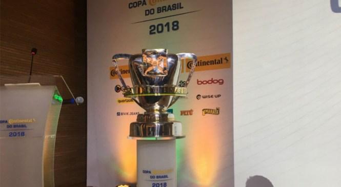 Confira todos os confrontos da Copa do Brasil 2018