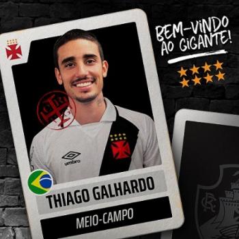 Vasco anuncia contratação de Thiago Galhardo, terceiro reforço para 2018