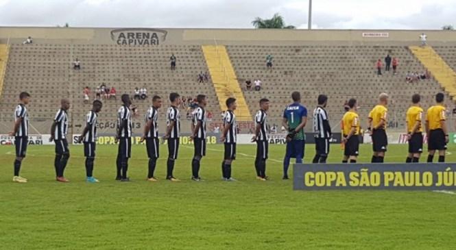 Botafogo perde para o Desportivo Brasil e dá adeus à Copa São Paulo