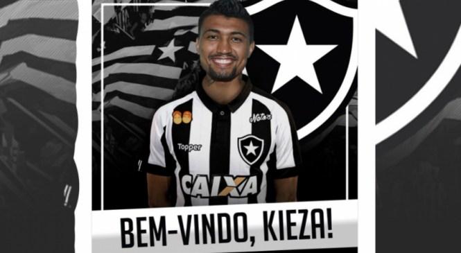 Agora é oficial! Kieza é anunciado como novo reforço do Botafogo