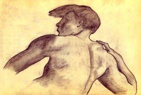 Detail - Michelangelo - An ignudo