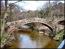 Beggar's Bridge over the R.Esk, N.Yorkshire