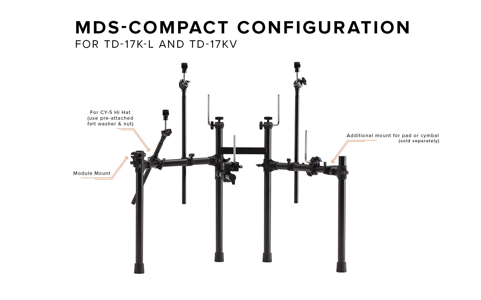 Td 17k L Td 17kv Td 17kvx Mds Compact Stand Information Roland Corporation