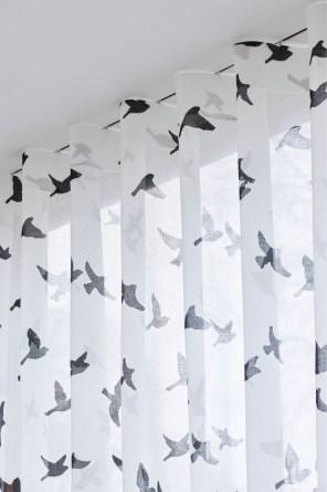 Firanki z motywem ptaków