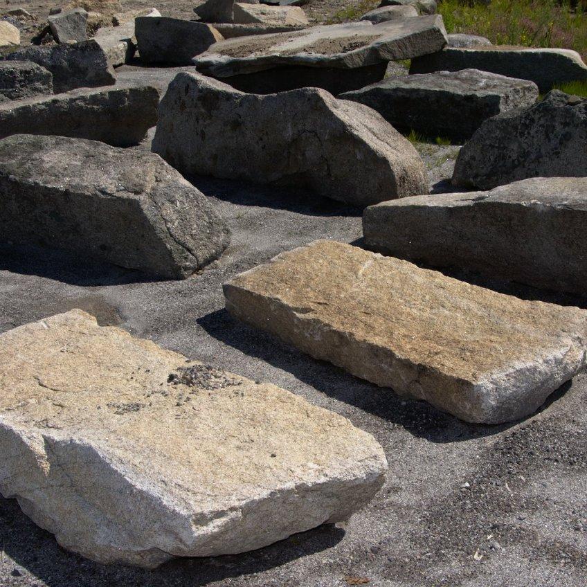 Split granite