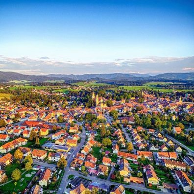 Luftbild Isny