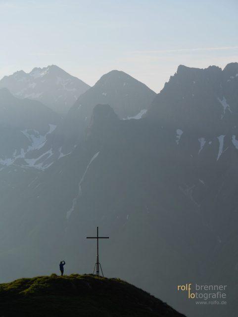 die schöne landschaft in den bergen