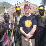 Rolf and Mursi tribesmen