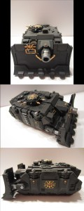 Chaos Space Marine Vindicator, Black Legion Vindicator