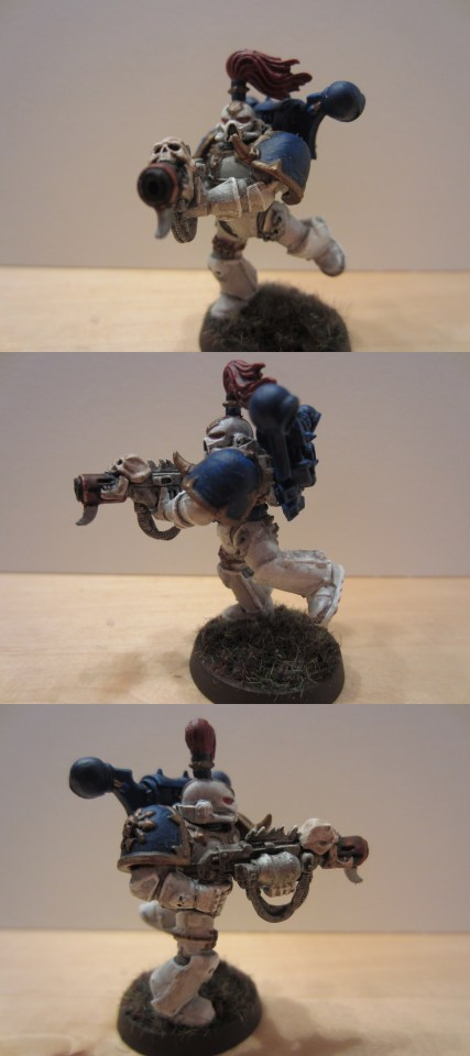 Chaos Space Marine mit Melter