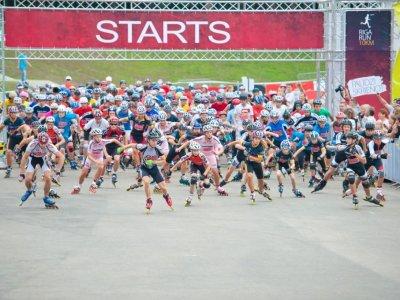 Благотворительный забег Nike Riga Run 2012