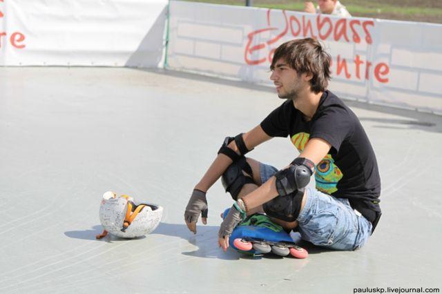 международный чемпионат по роллер спорту в Донецке