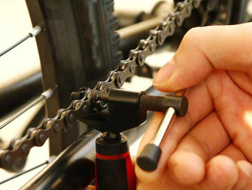 Как снять велосипедную цепь