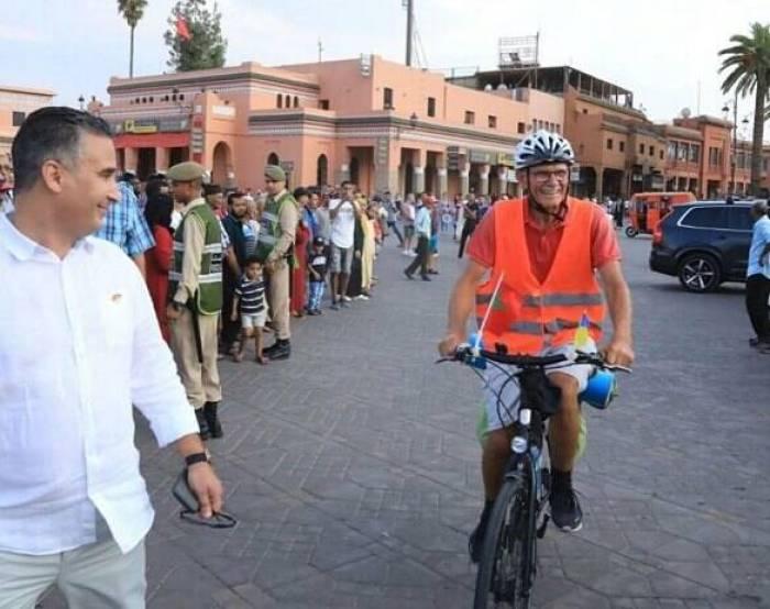 Путешествия на велосипеде с Украины в Марокко