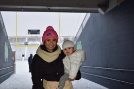 In the tunnel at ND
