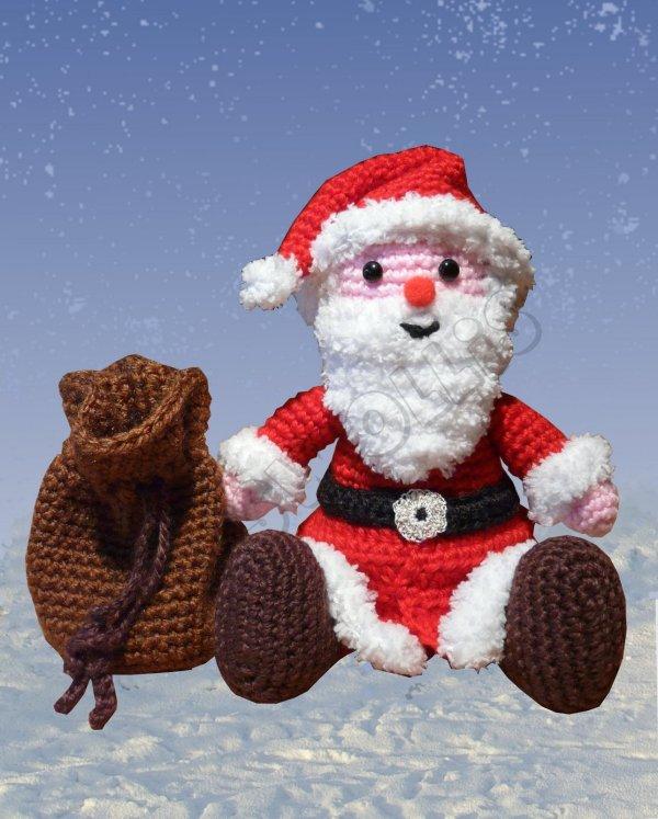 Amigurumis Amigurumi Weihnachtsmann Amigurumi häkeln