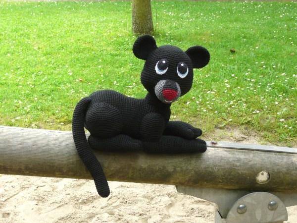 Amigurumi Panther Shadow