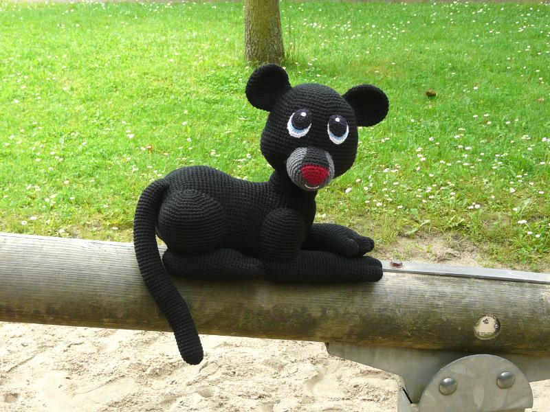 Amigurumi Panther Shadow › Häkel Bastel Anleitungen
