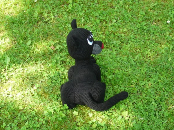 Amigurumi Panther Shadow