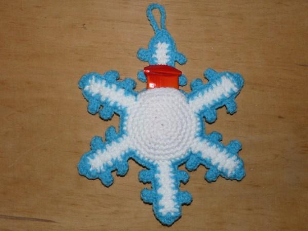 Amigurumis Adventskalender Schneeflocke Weihnachten