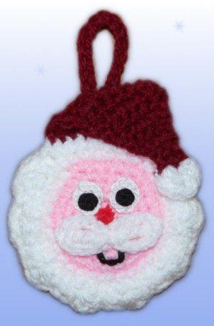 Adventskalender Motivebeutel Weihnachtsmann