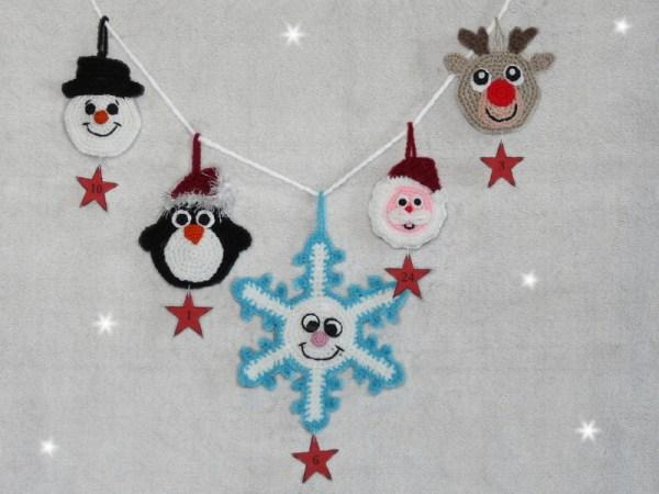 Amigurumis Gehäkelter Adventskalender Weihnachten