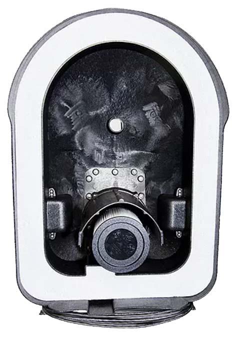 Inside of Roll-n-Vac unit