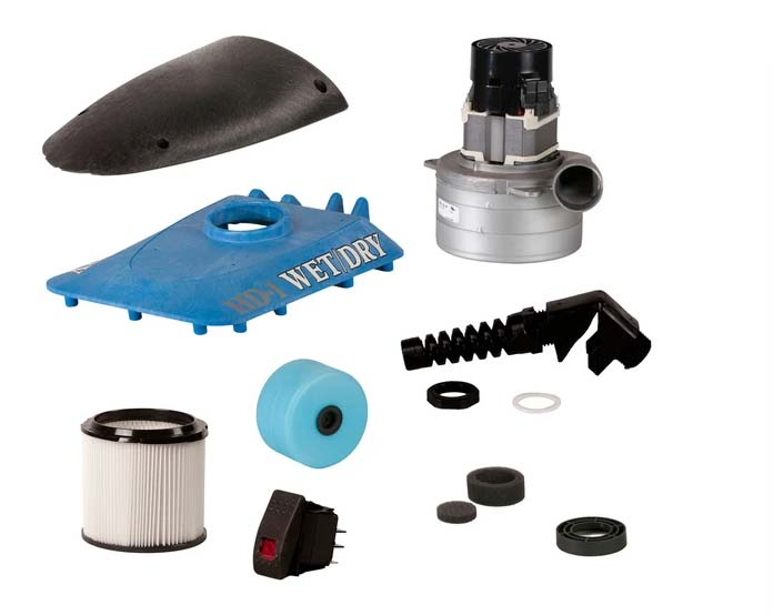Replacement Parts for Roll-n-Vac unit
