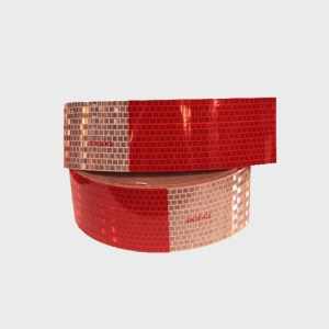 DOT C2 Red and White Tape 150' roll