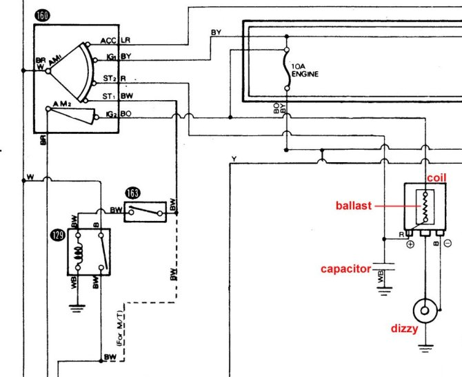 ignition coil wiring  ke70 technical questions  rollaclub