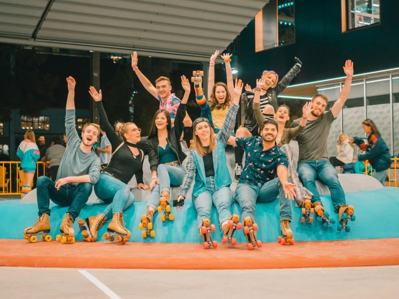 rolla skate club media