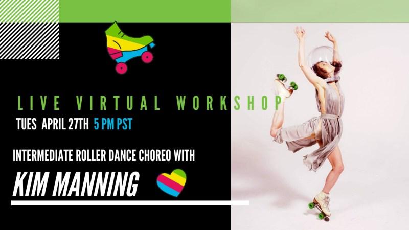 Kim Manning Roller Dance