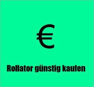 Rollatorkauf billig