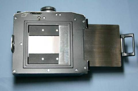 35mm Film held in a SL66 cassette