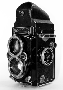 Rolleiflex 2.8E3 Front Right