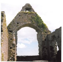 Archway in the Church and Abbey of St. Augustine