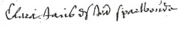 Clara handtekening1