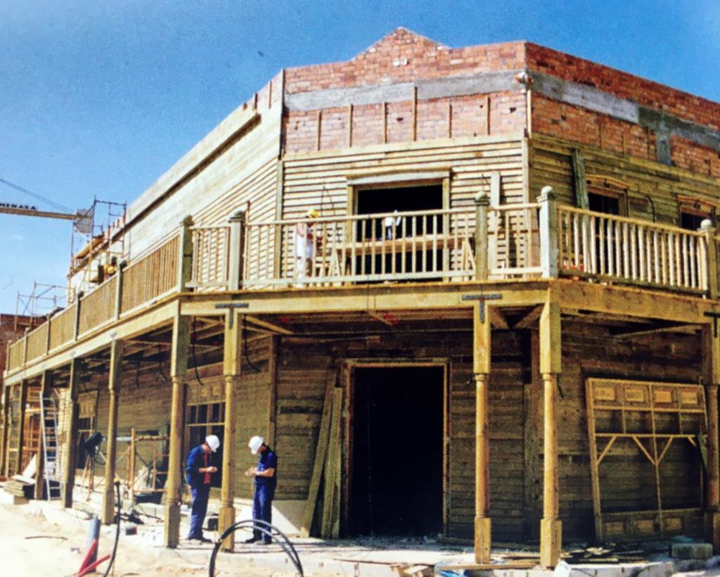 De geschiedenis van PortAventura: Far West