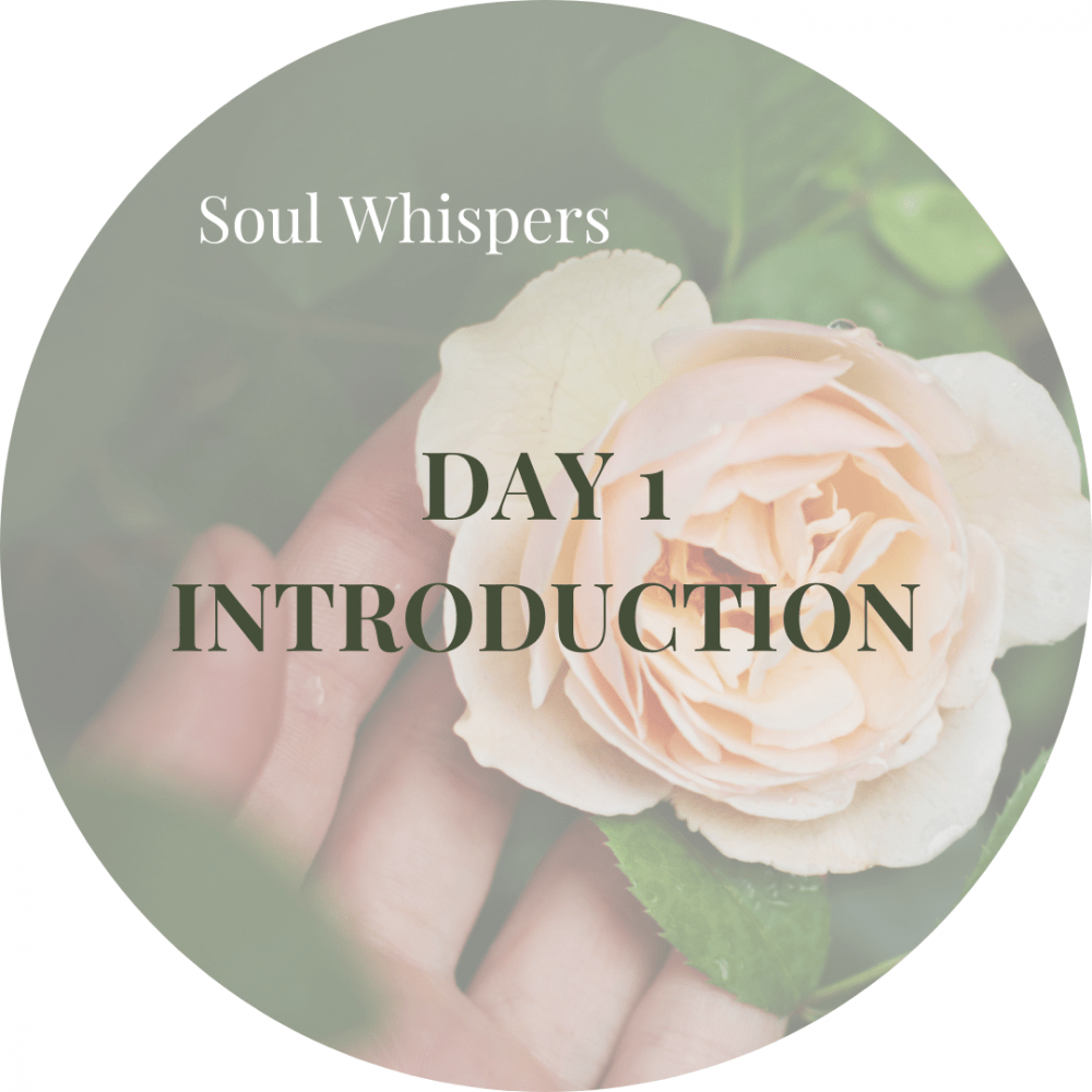 Soul Whispers Day 1 Introduction